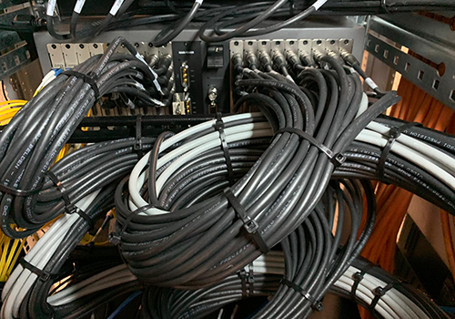 Server Innenreinigung, IT-Sanierung